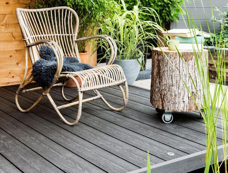 Composiet houtplanken voor het terras van Duofuse