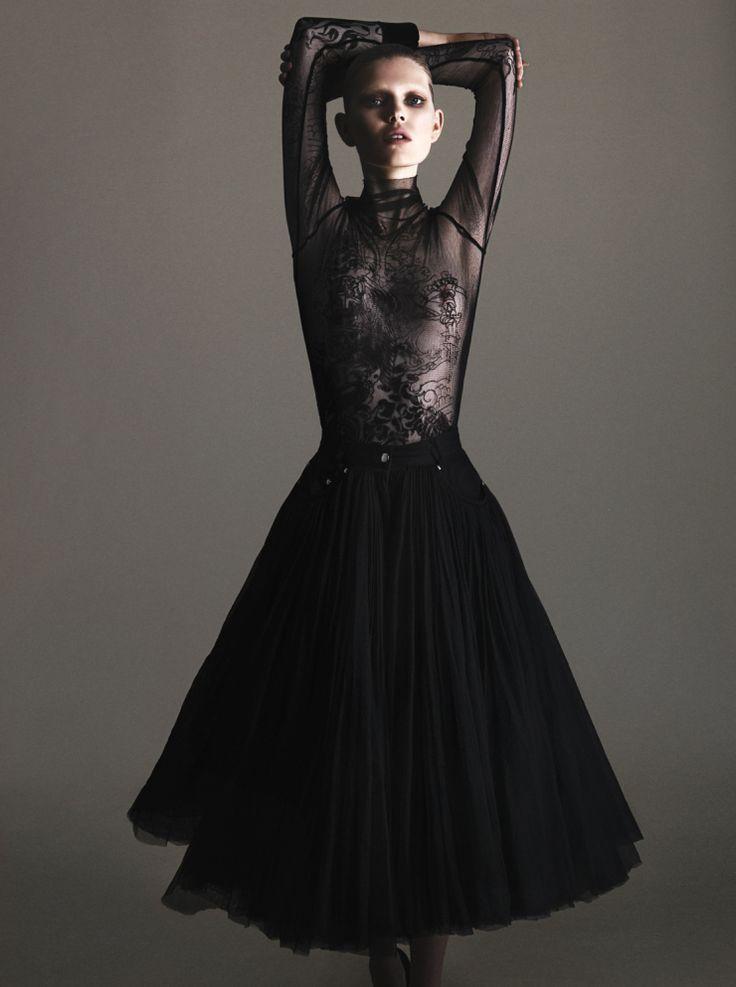 Ola Rudnicka by Arcin Sagdic for Vogue Ukraine June 2015 1: