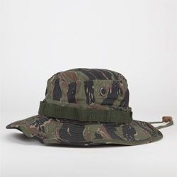Men's Tiger Stripe Camo Bucket Hat by Rothco
