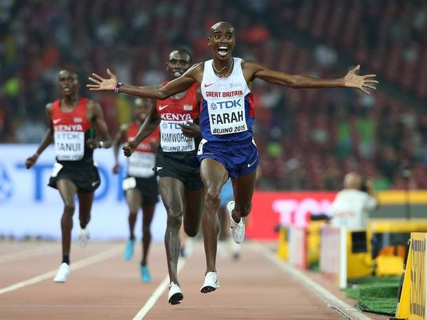 World Athletics Championship 2015: Mo Farah puts difficult year behind him by storming to 10,000m gold - Athletics - More Sports - The Independent