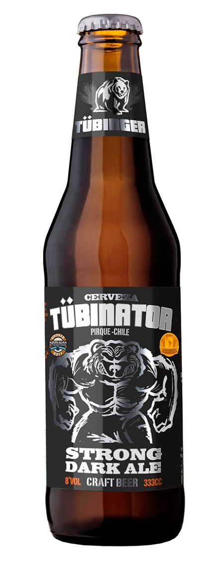 Tubinator Dark Strong Ale #craftbeer #craft #beer #cerveza #artesanal #Tubinger