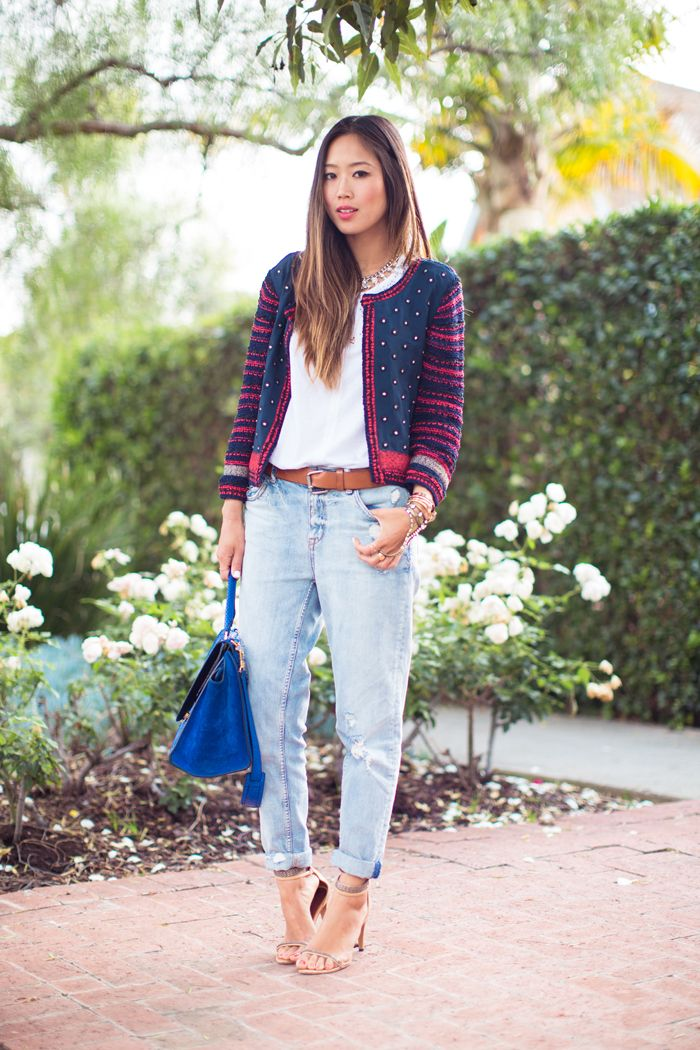 Song of Style: Tapered Boyfriend Jeans