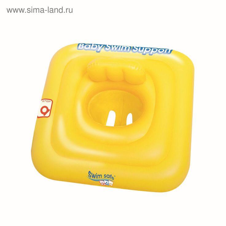 """Плотик для плавания """"Swim Safe"""", c сиденьем и спинкой, трёхкамерный, ступень A"""