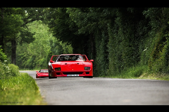 Ferrari F40 & Co., via Flickr.