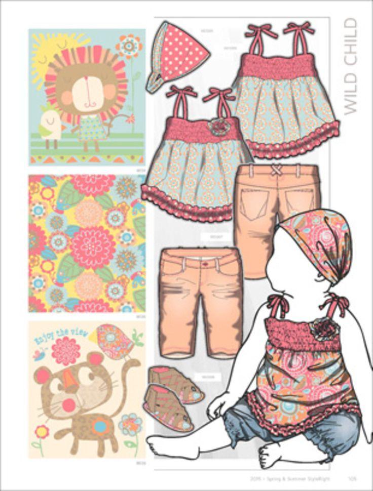 Style Right Babywear Trend Book - S/S 2015 - Kidswear - Styling ...