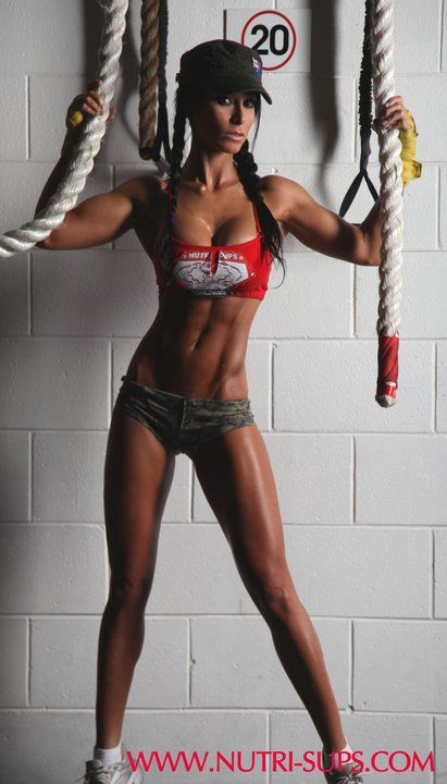 Strong is so much sexier than skinny. When I look like this I'll finally be satisfied :)