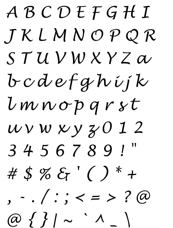 10 images about letras on pinterest disney studios and Lucida calligraphy free