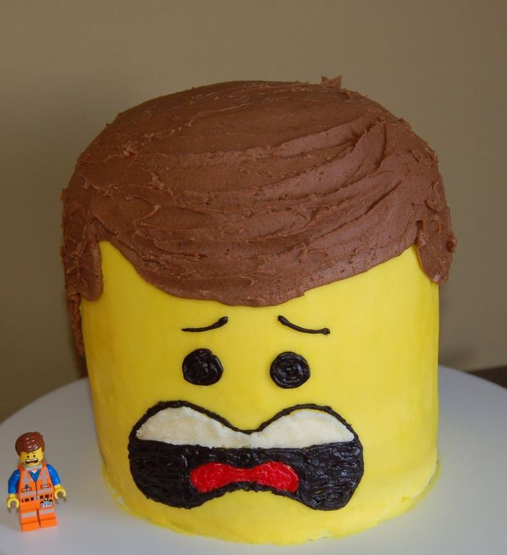 Emmett From The New Lego Movie All Buttercream Icing