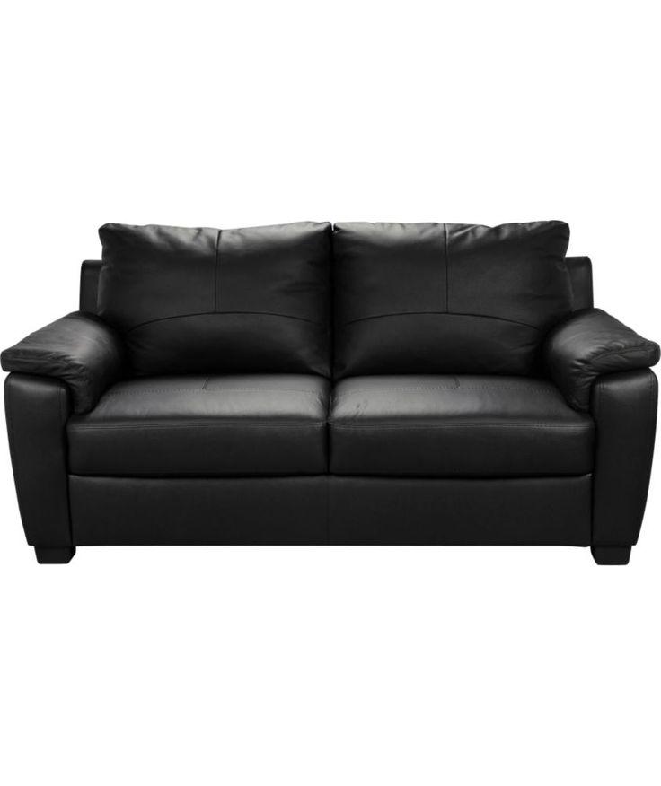 argos leather effect half price sofa bits for flat. Black Bedroom Furniture Sets. Home Design Ideas