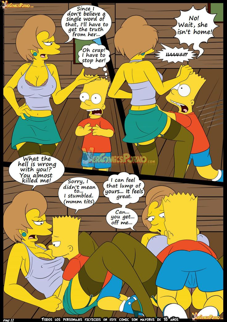 free simpsons sex cartoons Simpsons - Marge's sex Surprise in the home 1 by DrawnSex.
