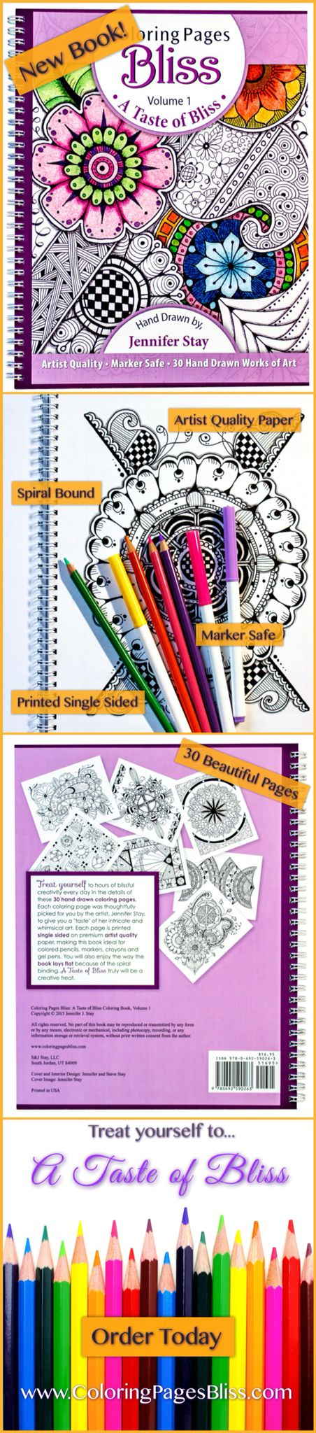 249 best images about color pencils on pinterest Coloring books for adults spiral bound