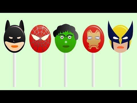 Super Heroes Finger Family - Finger Family - Finger Family Song - Vidinterest