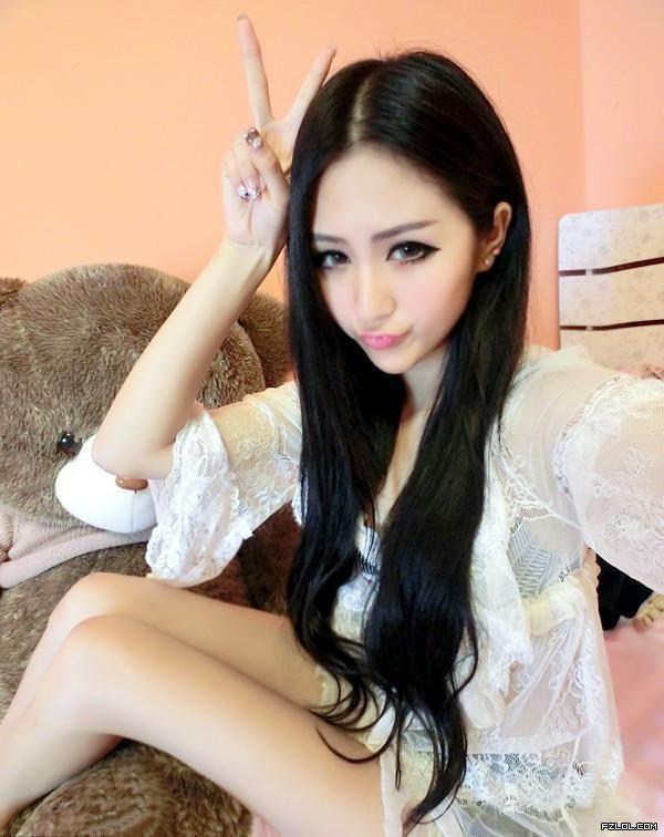 Long Black Hair Ulzzang Gyaru Asian Style Pinterest
