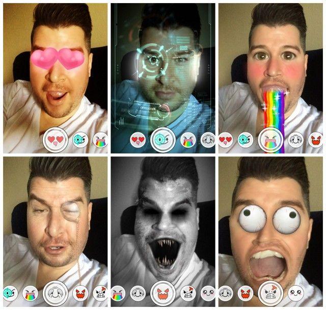 Snapchat update: 'Lenses', trofeeën, terugkijkfunctie en meer