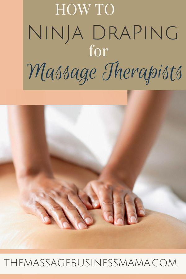 How To Drape Your Massage Clients The Massage Business Mama Massage Therapy Business Massage Business Massage Marketing