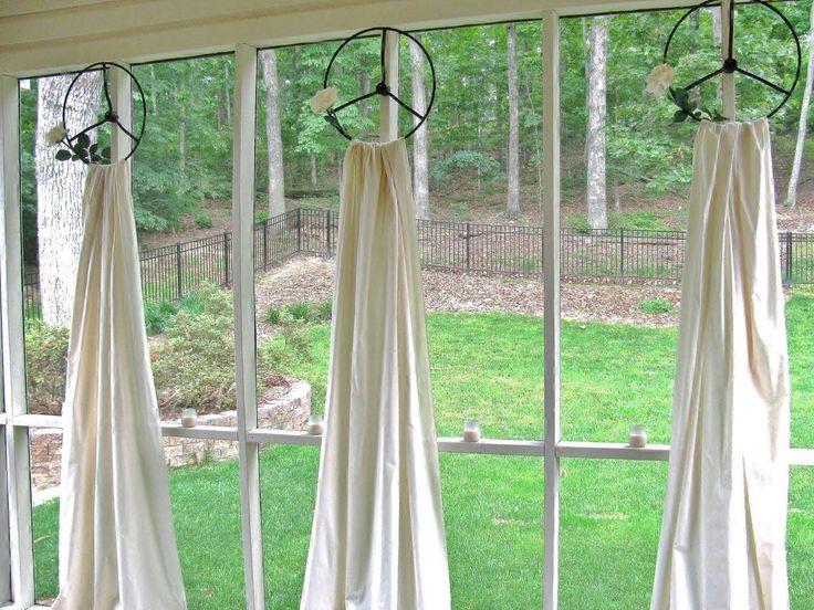 unusual window treatment ideas