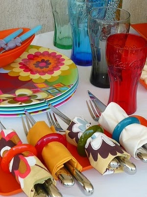 Ideas para decorar en carnaval: Different, Decorate, Ideas Amazing, Decoration, Ideas Para, Flakes, Carnival, Cooking, Table