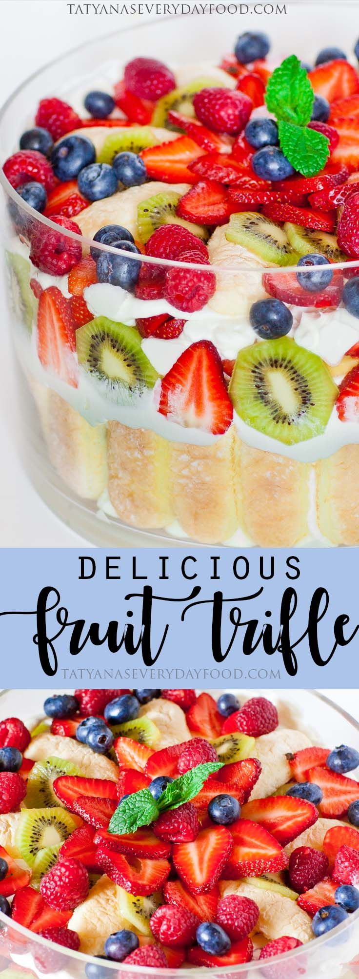 how to make the best fruit trifle