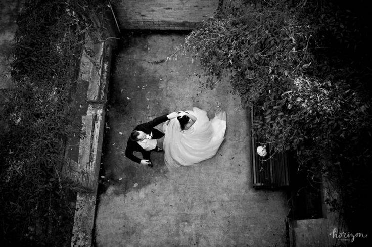 Wedding Photography Brisbane, the powerhouse, love, veil, natural, dance, black and white, Horizon Studios