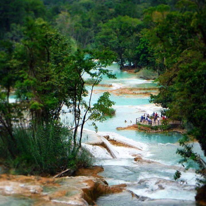 Agua Azul, Chiapas, Mexico - Most Beautiful Waterfall in the world!