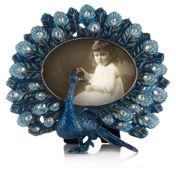 enamel peacock frame a really special highly unusual peacock photo frame enamel in
