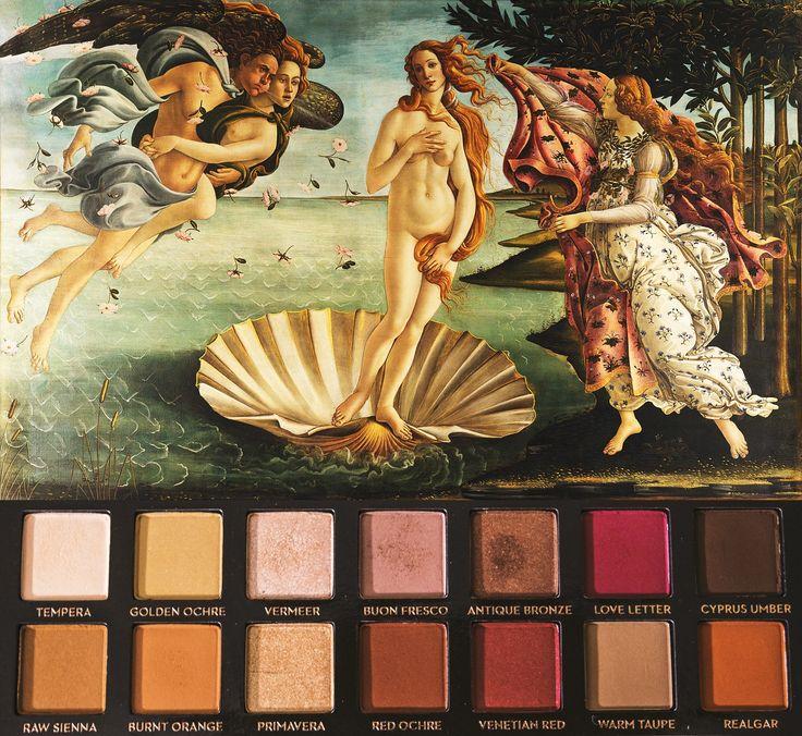 "fachelrinkle: "" The Birth of Venus // Anastasia Beverly Hills Modern Renaissance Palette """