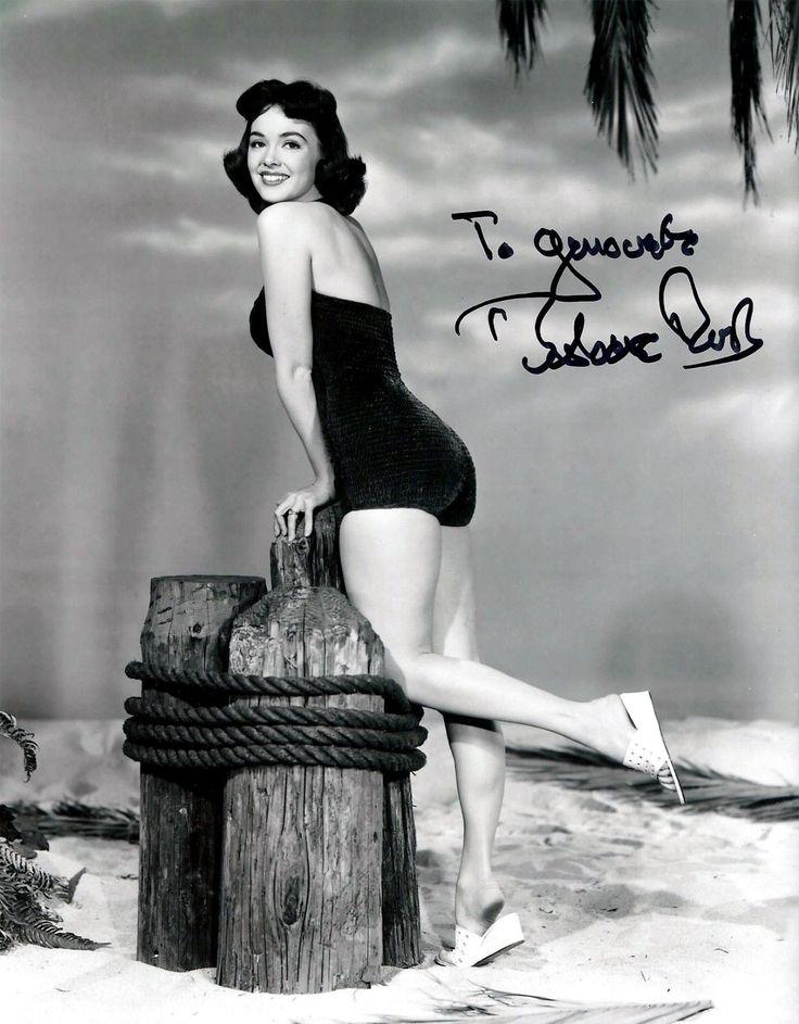 Barbara Rush Signed Sexy 8x10 Photo Autograph | eBay