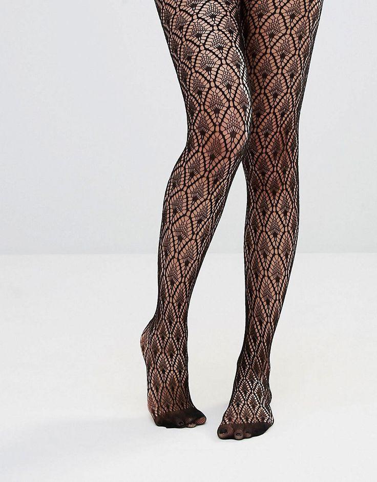ASOS Diamond Crochet Fishnet Tights -------------------- 11.27€