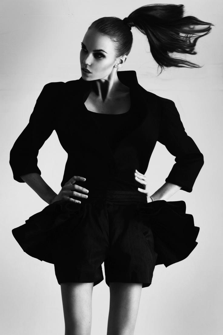 Camilla Salgaard Campaign: Zuri Jacket & Monique Shorts