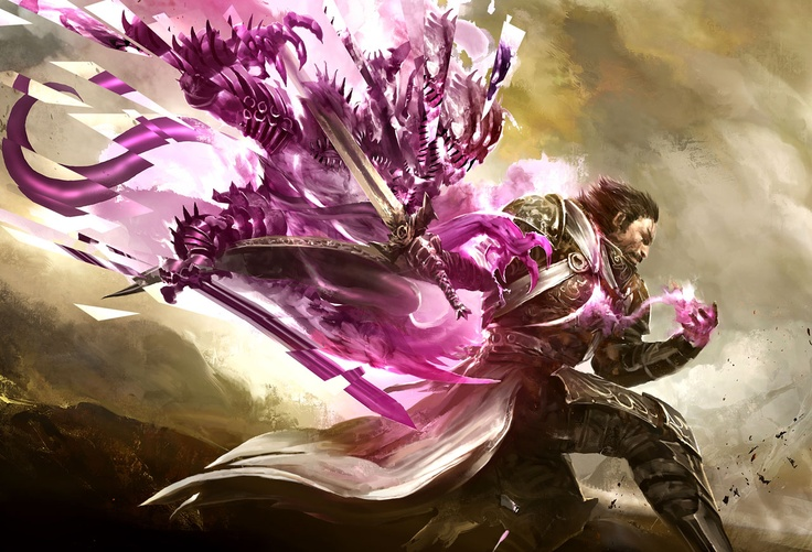 Guild Wars 2 - Mesmer Male
