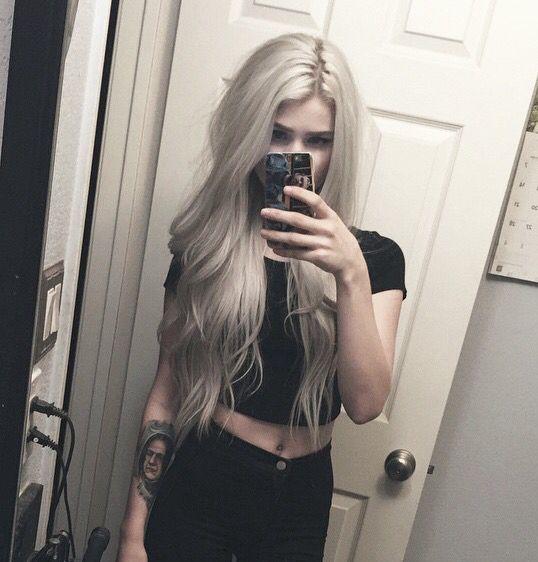 Eu queria meu cabelo  assim tambem