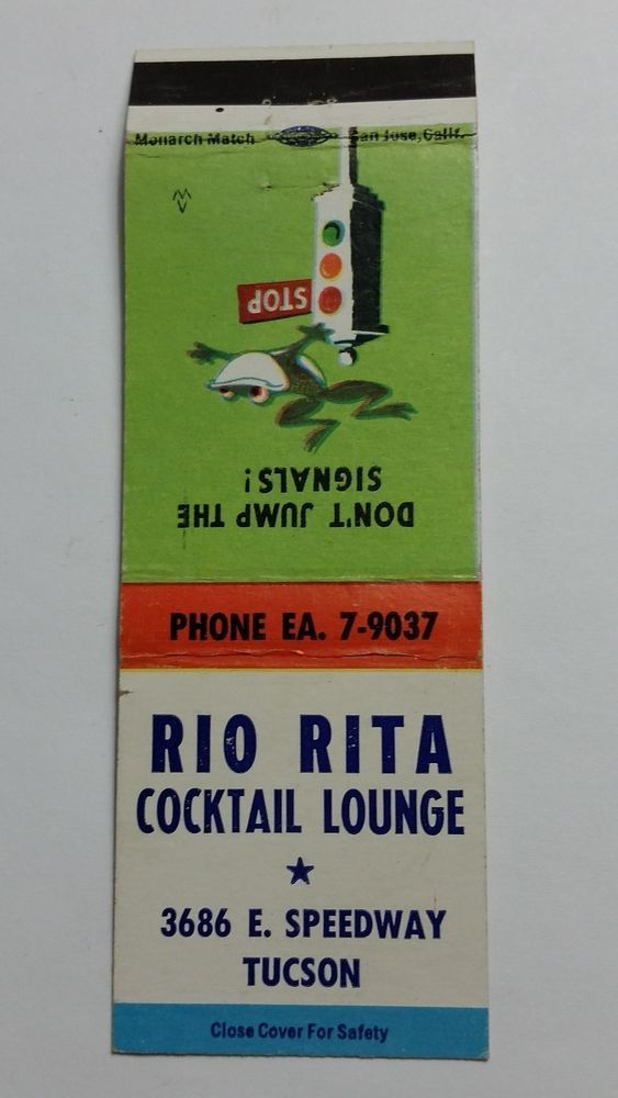 RIO RITA COCKTAIL LOUNGE TUCSON ARIZONA Ph