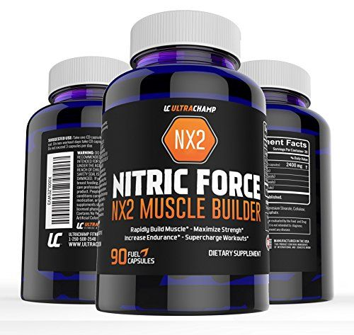 NX2 Nitric Oxide Booster, L-Arginine and L-Glutamine Supplement - Build Big Muscle Mass Fast   Boost Performance With Incredible Pre Workout Pills for Max Gains- Get Ultrachamps Nitric Oxide and See The Results You've Been Looking For >>> You can find out more details at the link of the image.