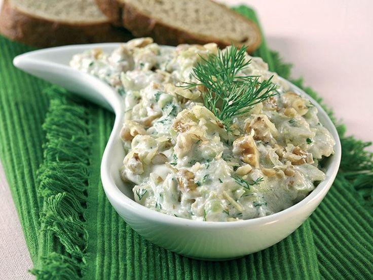 Cevizli Kabak Salatası Tarifi - Lezzet