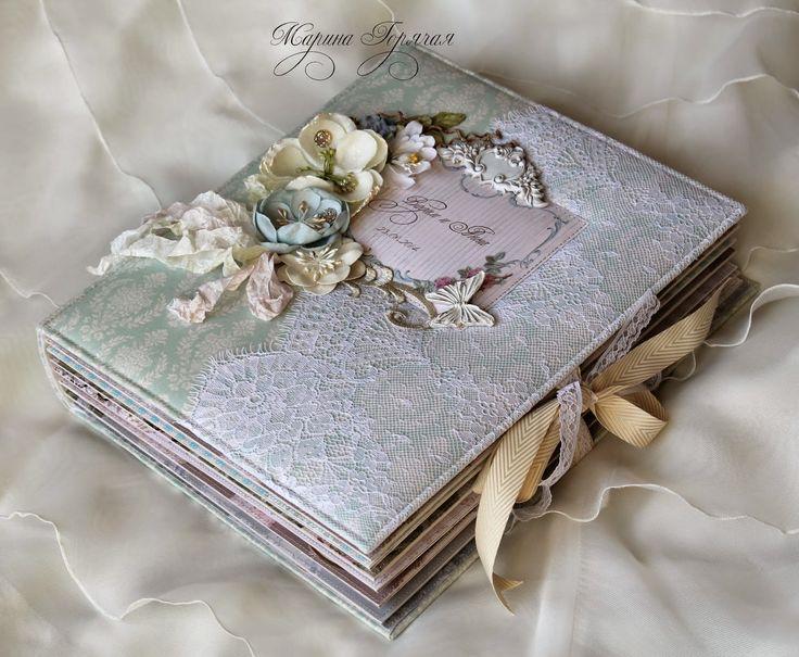 Альбом с душой : Свадебный альбом - мой первый и самый любимый!
