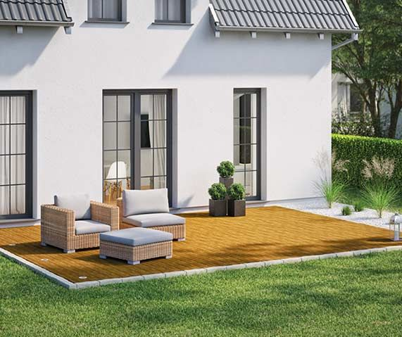 25+ Best Ideas About Holzfliesen Terrasse On Pinterest ... Terrassen Und Balkongestaltung 35 Hubsche Beispiele