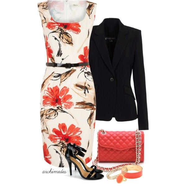 Coral, created by archimedes16 on Polyvore