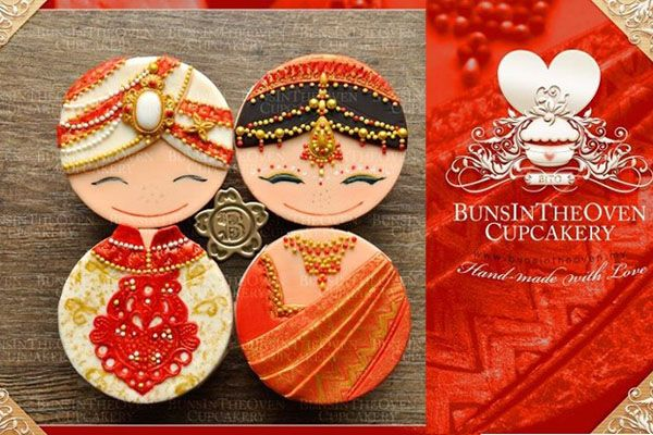 Wedding Gift Ideas India: Couples Cupcakes #Shaadi #Shaadimagazine