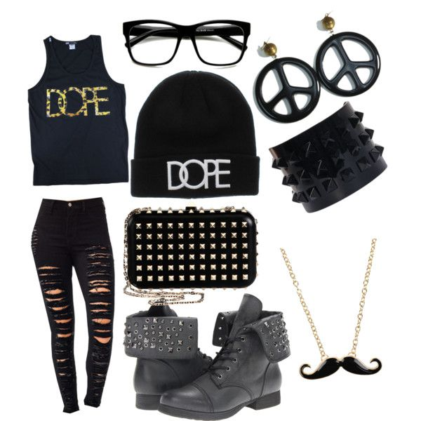 Polyvore+Dope+Outfits+for+Girls | fashion look from June 2013 featuring Pink & Pepper ankle booties ...