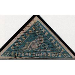 Woodblock stamps - These rare error stamps from Cape of Good Hope were mistakenly printed in blue and in vermillion. But the rarest Woodblock stamp is the blue one.