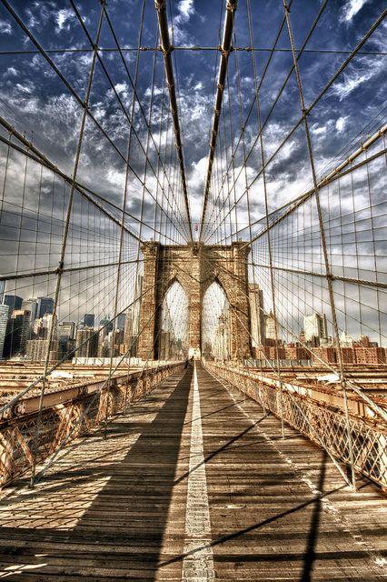 Awesome pic - Brooklyn Bridge, New York