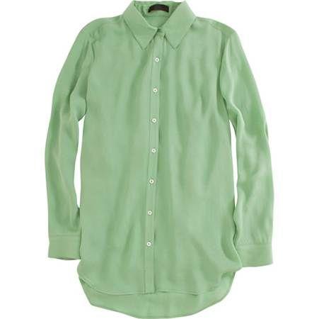 Camisa verde clara. (Policias)