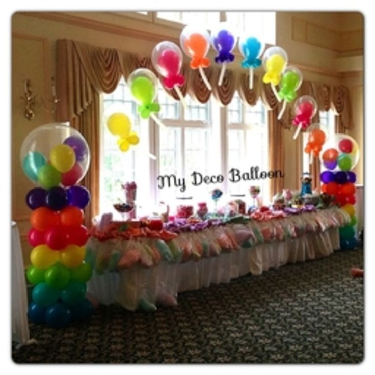 54 best kids 39 party ideas images on pinterest birthday for Balloon arch decoration