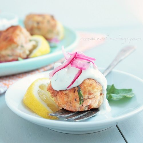 ... salmon cakes with lemon dill dip salmon cake minis with lemon dill