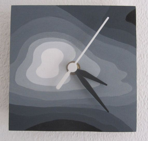 A unique handmade and hand painted clock by TimeAndDesign on Etsy, £12.00 Find it on: https://www.etsy.com/uk/listing/195575666/a-unique-handmade-and-hand-painted-clock?ref=shop_home_active_2