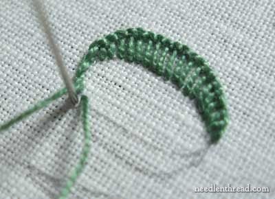 Hand Embroidery: Lettering & Text 6: Buttonhole and Stem Stitch – Needle'nThread.com