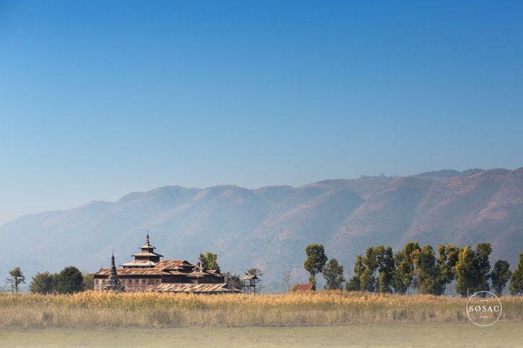 #inlelake #burma #myanmar #travelphotography #temple © Shane O Sullivan SOSAC Photography
