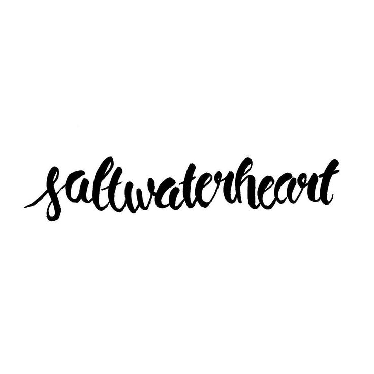 "Susi Weissenbach (@susituesday) auf Instagram: ""Saltwater: the cure for (almost) everything. #roadtrip #adventure #australia #handlettering…"""