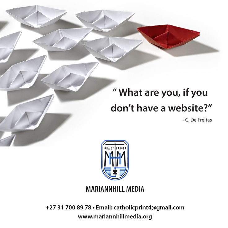 What are you, if you don't have a website?