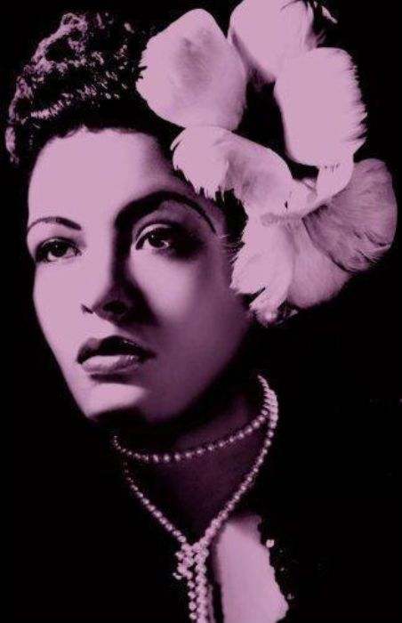 Billie Holiday-The voice of a century......DIED AT THE AGE OF 44 DUE TO A DRUG OVERDOSE........SO SAD SHE WAS GONE BEFORE HER TIME.